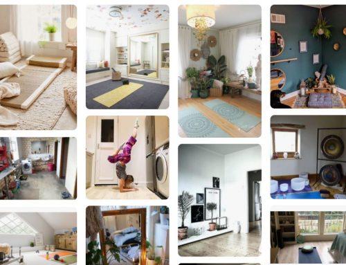 Espacio de Yoga dentro del hogar
